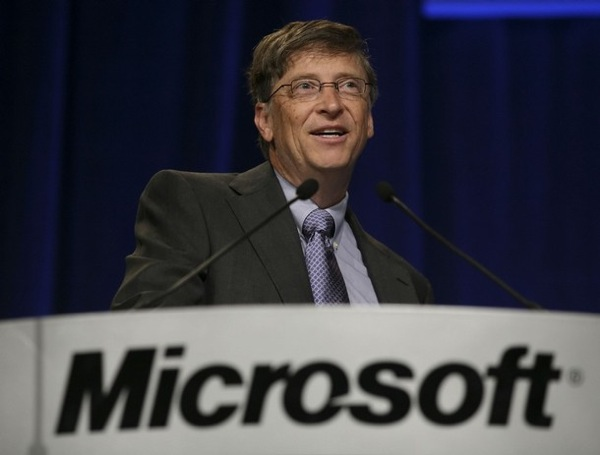 Microsoft Chairman Bill Gates speaks at the Microsoft annual shareholders meeting in Bellevue